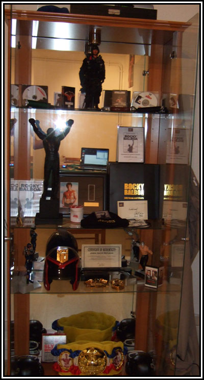 Here is Christopher's display