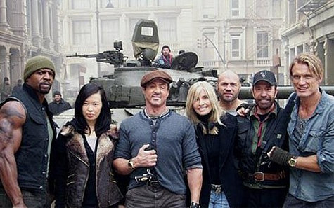 the expendables 2 cast - photo #2